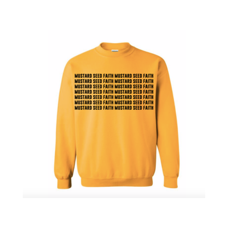 Mustard Seed Faith Crewneck Sweatshirt