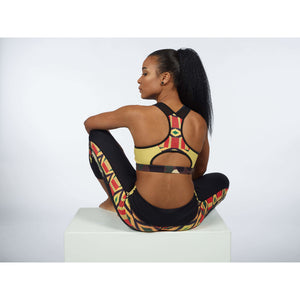 YELLOW BOMB SPORTS BRA - Essence Marché
