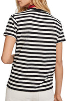 Striped Crew Neck T-Shirt