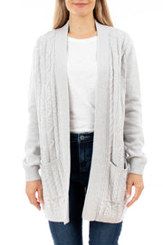Edge to Edge Cable Cardigan
