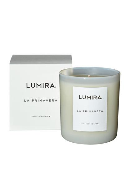 La Primavera Glass Candle