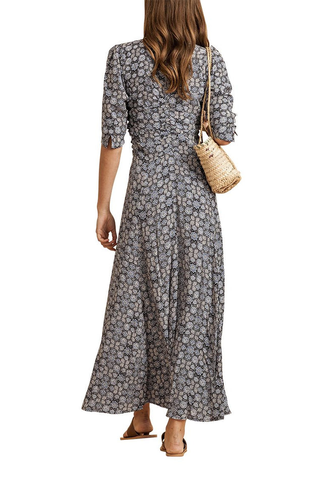 Louvre Batik Maxi Dress