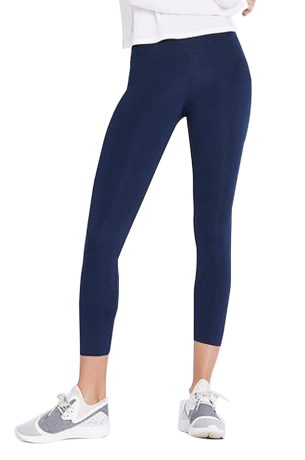 All Day High Rise Navy Tight