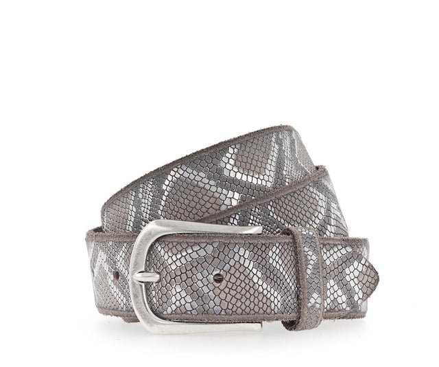 Sabia Metallic Snake Belt
