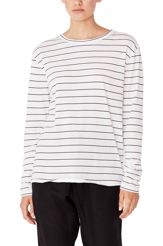Bay LS Stripe Tee