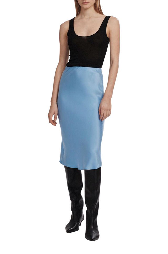 Bias Cut Colour Skirt