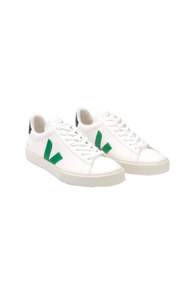 Campo Leather White Emerald Sneaker