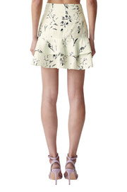 Carly Linen Floral Skirt