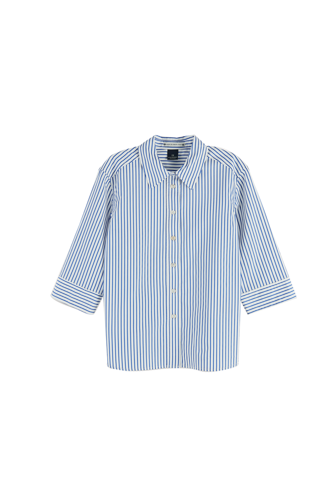 Cotton 3/4 Slv Shirt