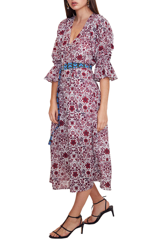 Dolls On Parade Midi Dress