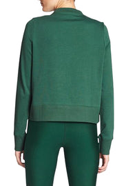 Embossed Green Sweater