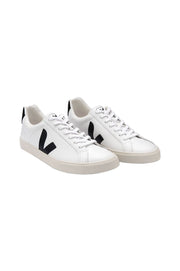 Esplar Leather White Black Sneaker