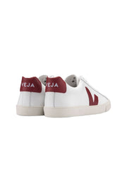 Esplar Leather White Marsala Sneaker