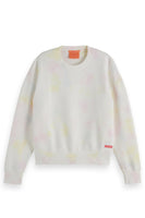 Tie Dye Crew Neck Sweater