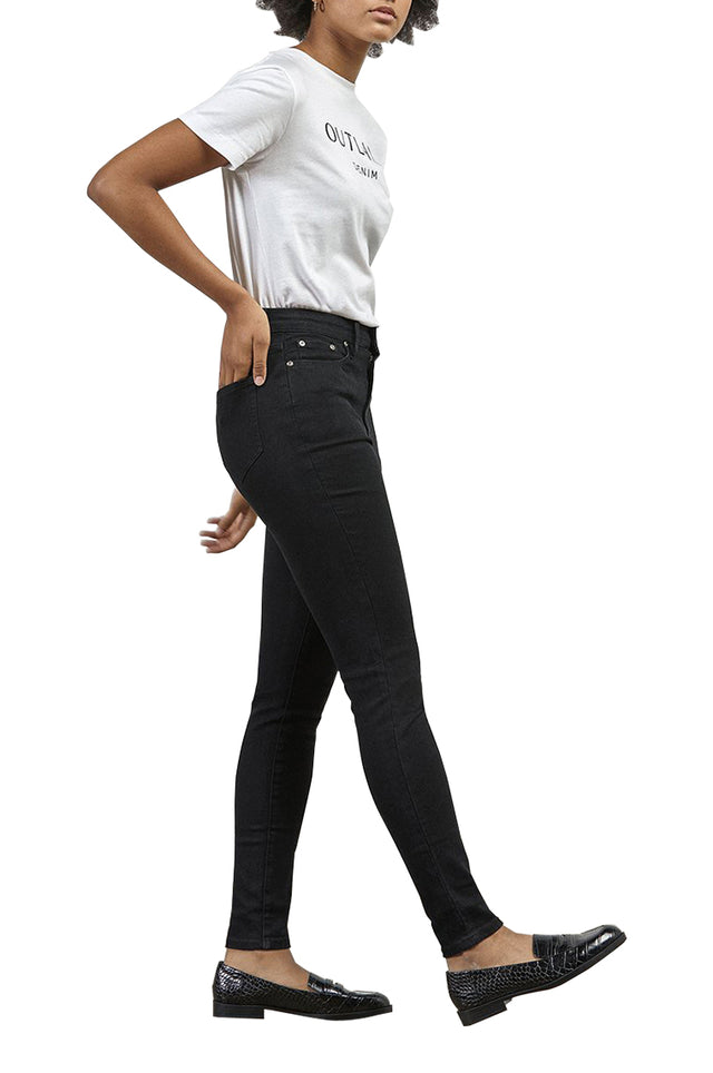 Harriet High Rise Black Jean