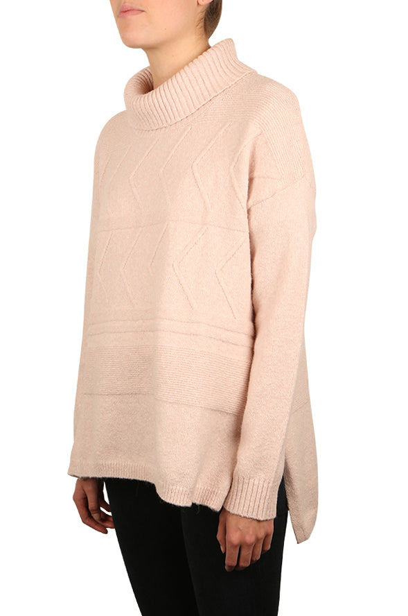 Horizontal Cable Pullover