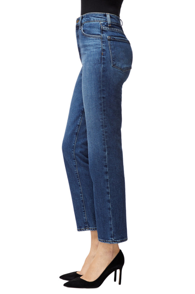 Jules High Rise Straight Jean