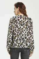 Leopard Lounge Top