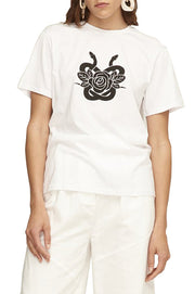 Lover Serpent & Rose Tee