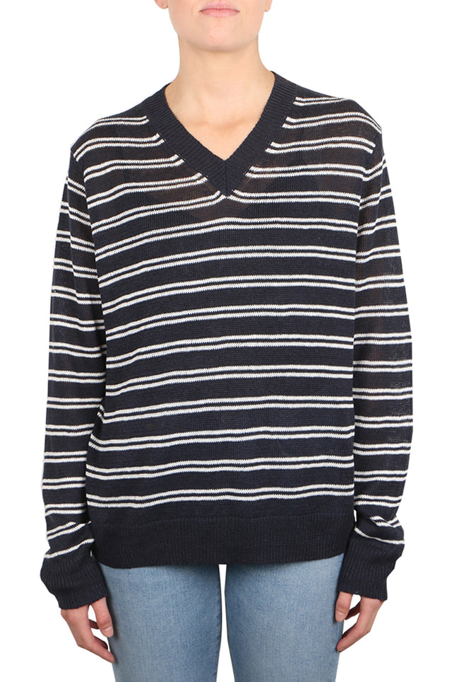 Margot Stripe Linen Knit