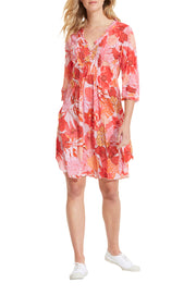 Valencia Midi Poppy Dress