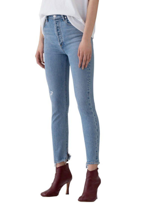 Nico High Rise Headlines Jean