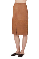 Rozaria Leather Skirt