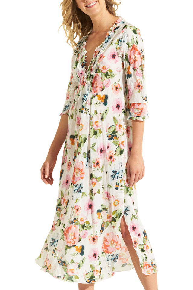 San Jose Long Poppy Dress