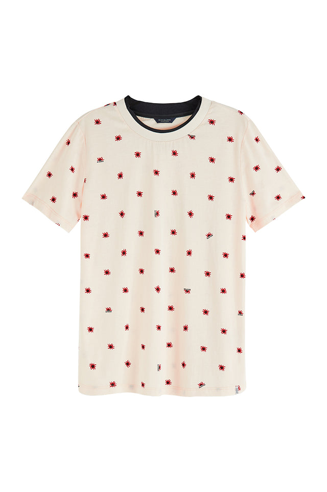 Seasonal Print SS T-Shirt