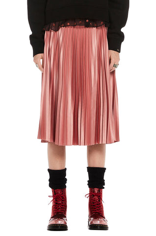 1afff3a871 Silky Pleated Skirt
