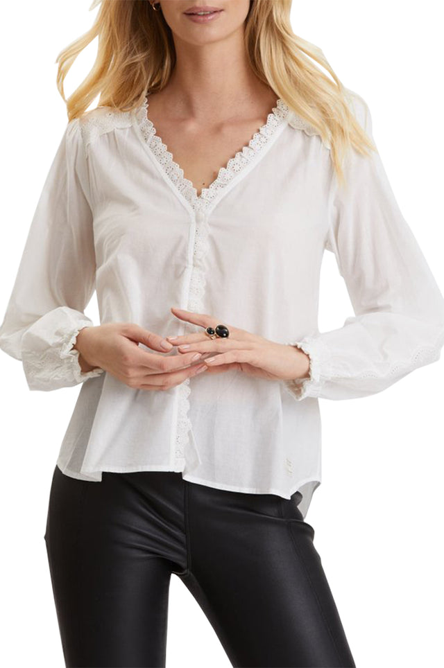 Sleeves Up Blouse