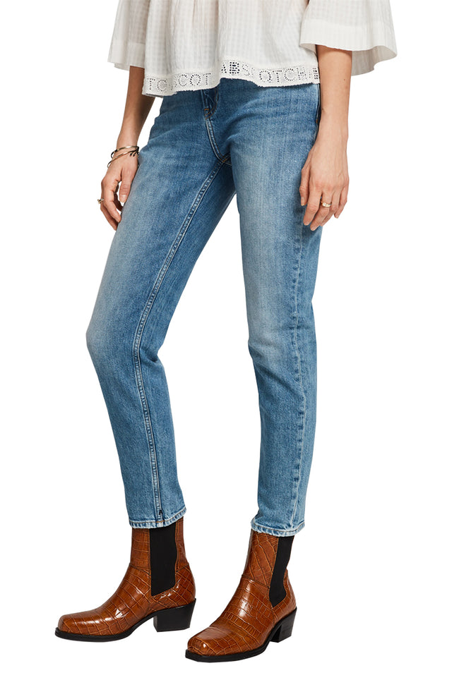 The Keeper Mid Rise Straight Jean