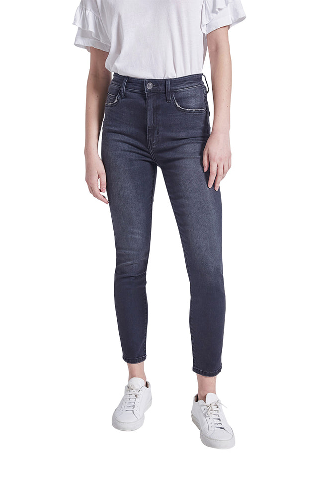 The Original High Waist Stiletto Washed Jean
