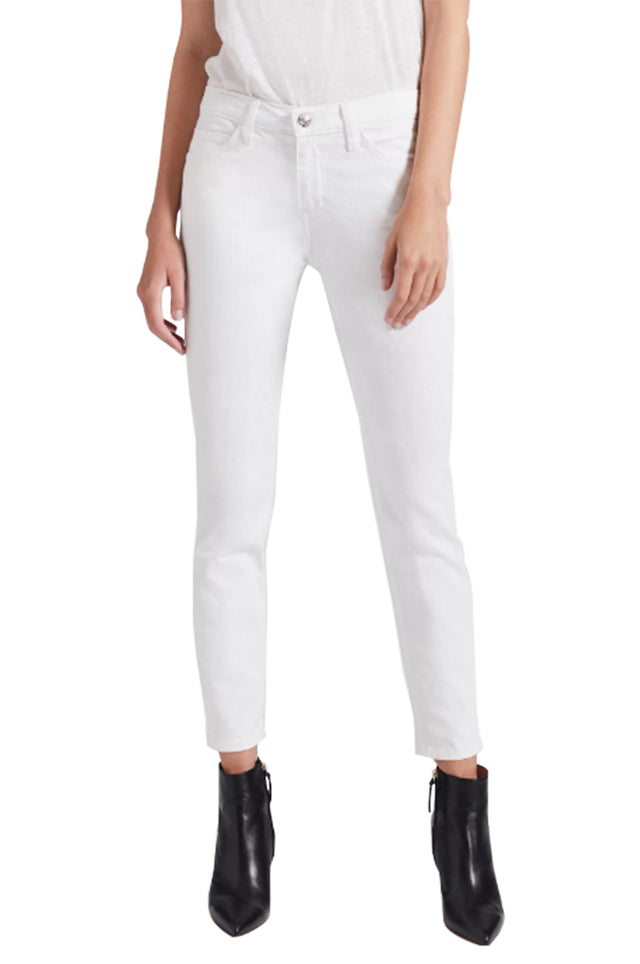 The Stiletto White Jean
