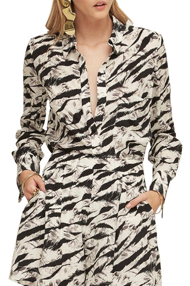 Zebre Silk Shirt