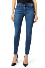 Zion Mid Rise Skinny Jean
