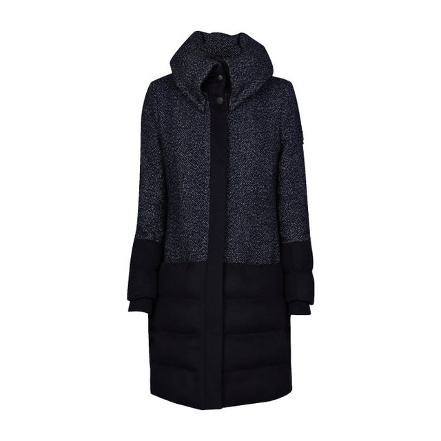 Lina Long Wool Puffer