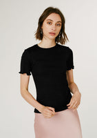 Nancy Ribbed Tee