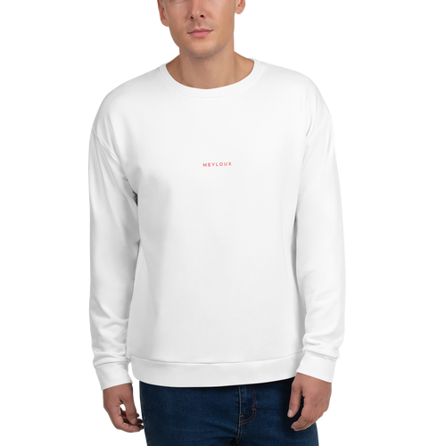 Meyloux Minimal Red Sweatshirt