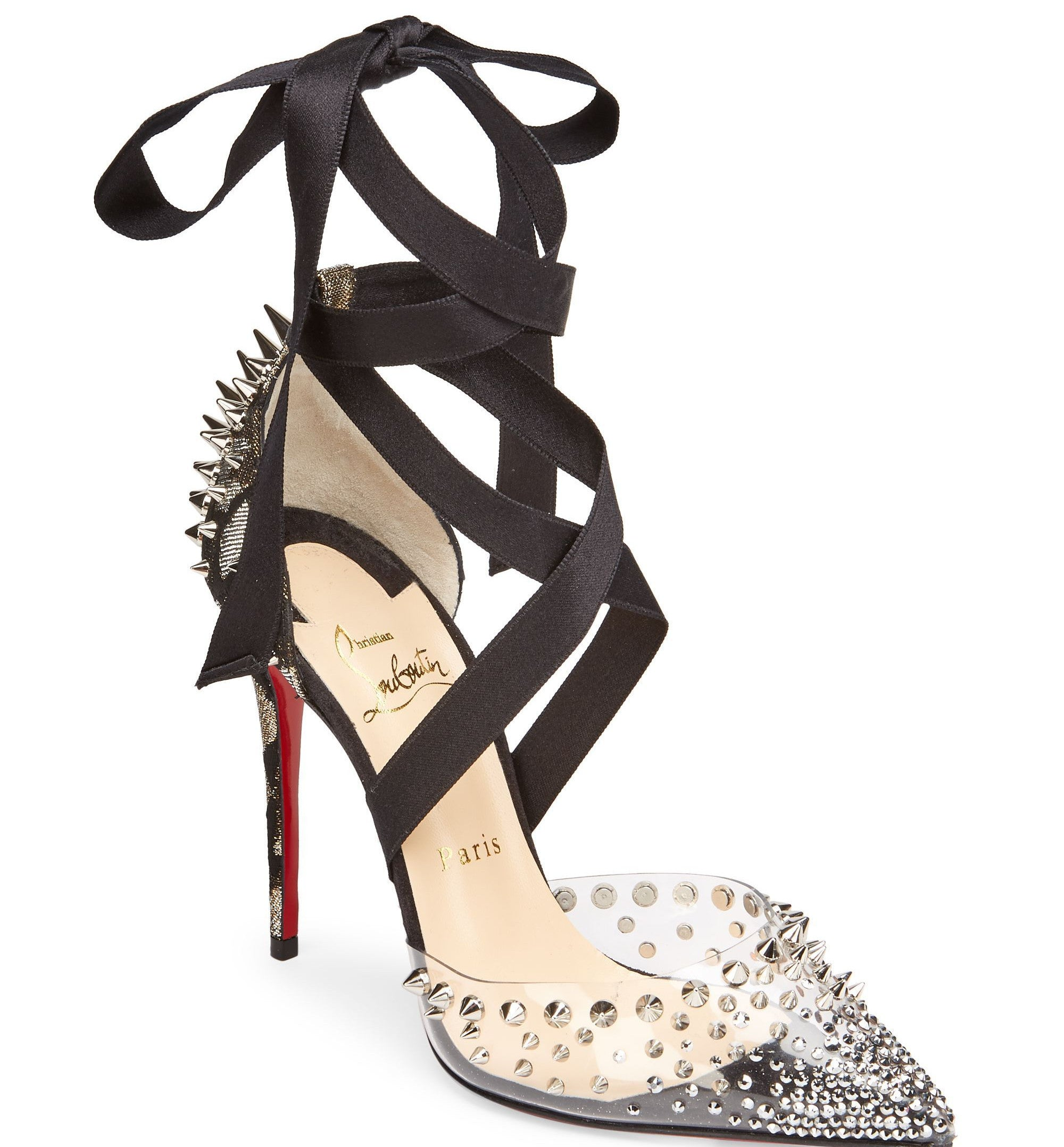 80f34a391c0 Christian Louboutin Mechante Reine 100 Lace-Up Pumps - Joseph