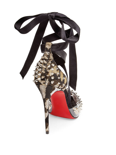 Christian Louboutin Mechante Reine 100 Lace-Up Pumps