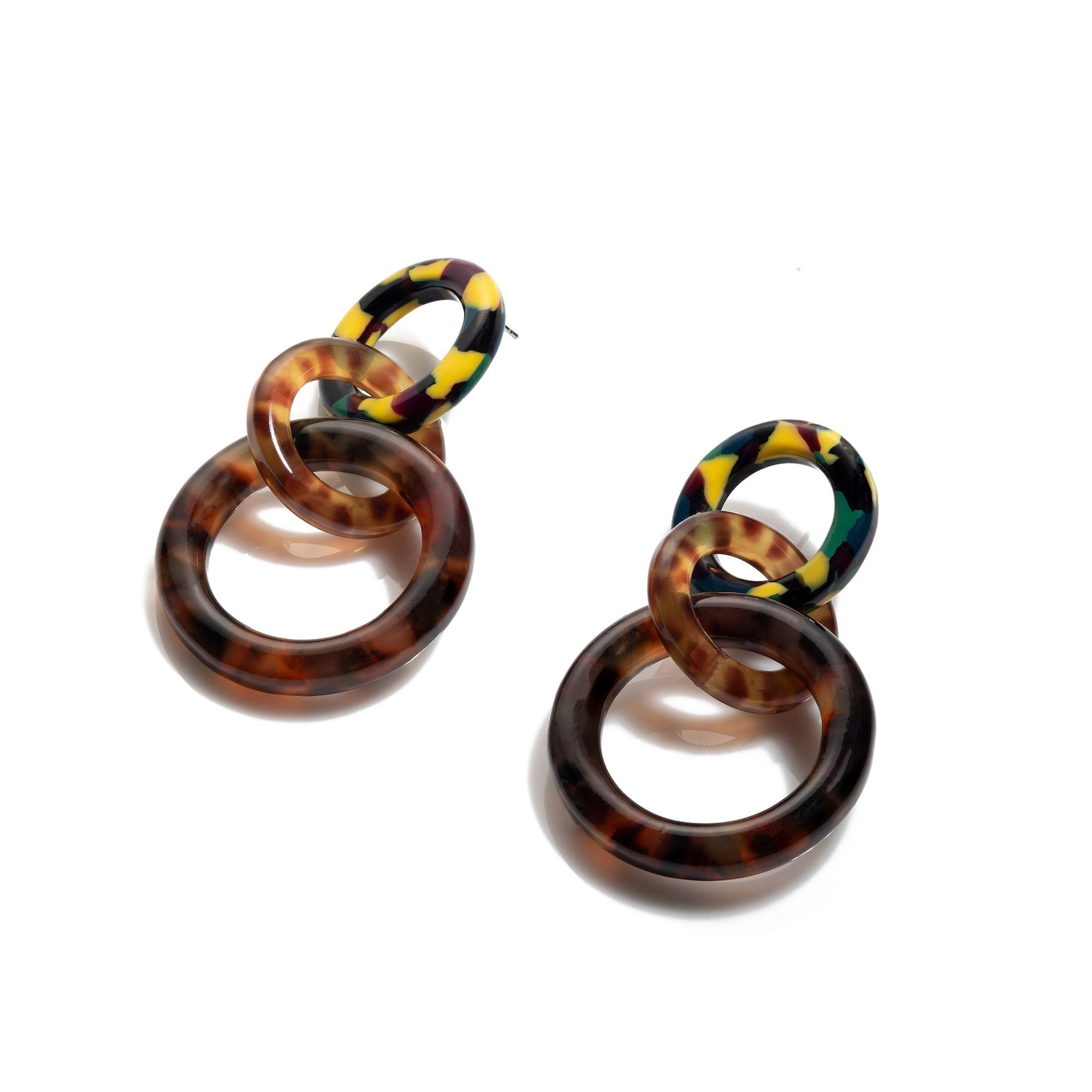 Lele Sadoughi Multi Hoop Earrings