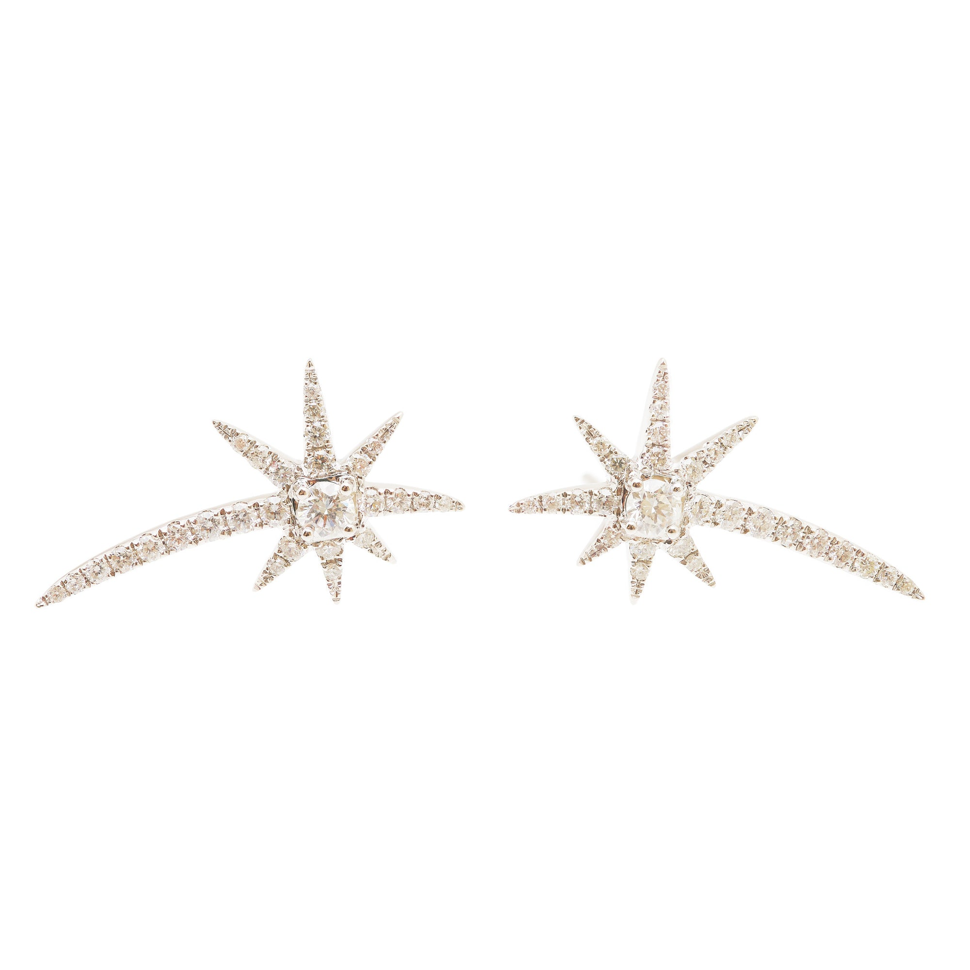 Graziela Diamond Shooting Starburst Earrings
