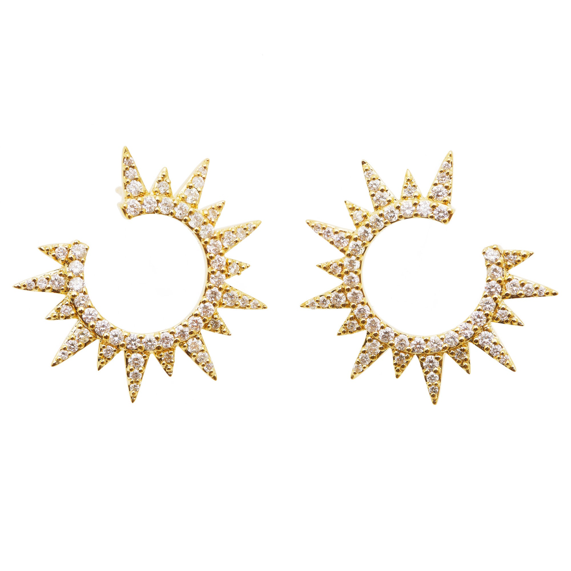 Graziela Diamond Everest Earrings