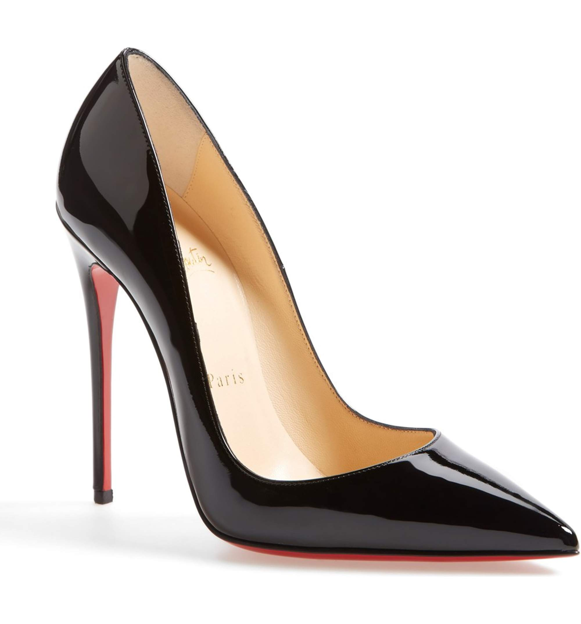 CHRISTIAN LOUBOUTIN SO KATE POINTY TOE PUMPS
