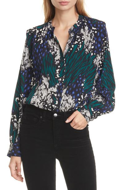 Veronica Beard Buckley Blouse