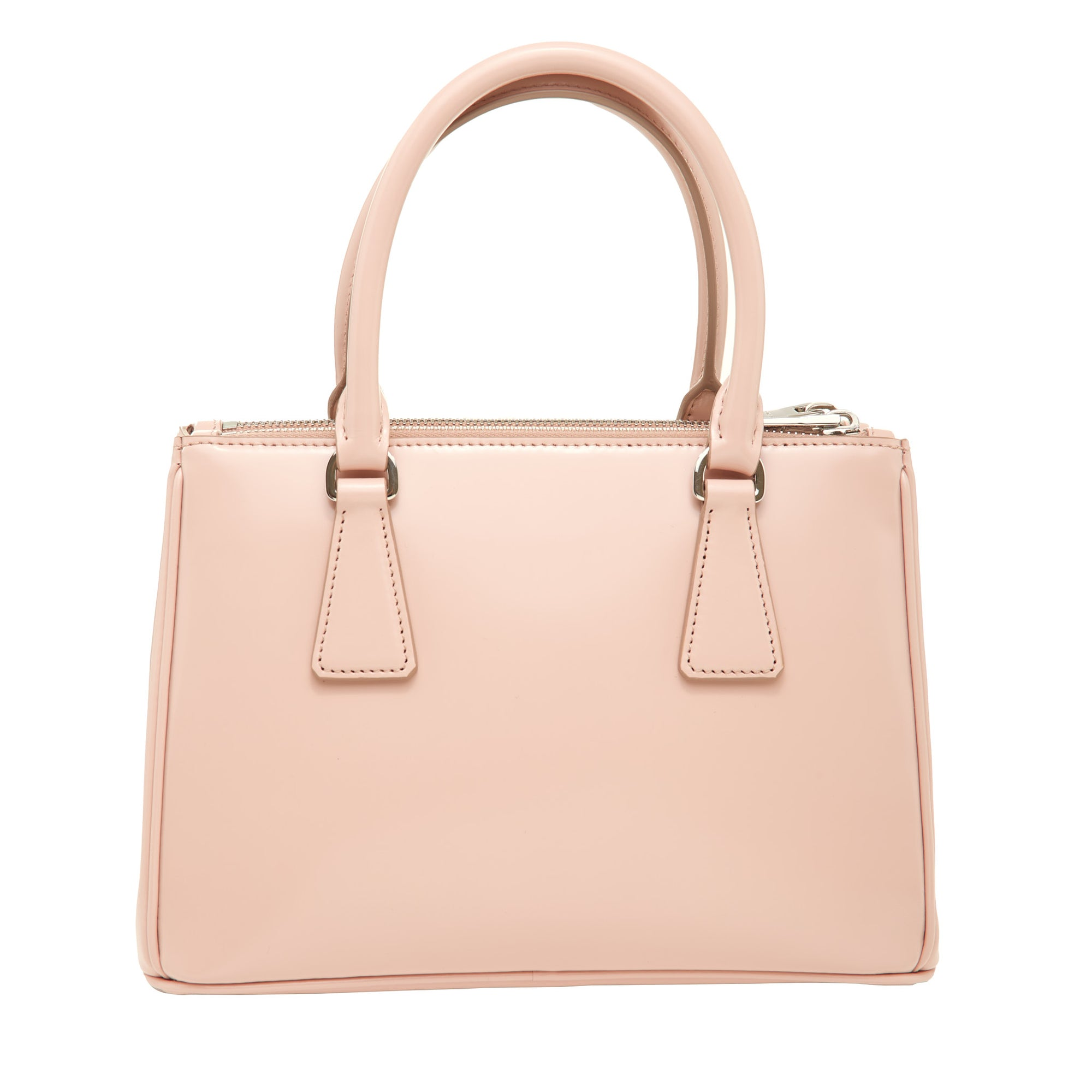 Prada Double Handle Bag With Pouch