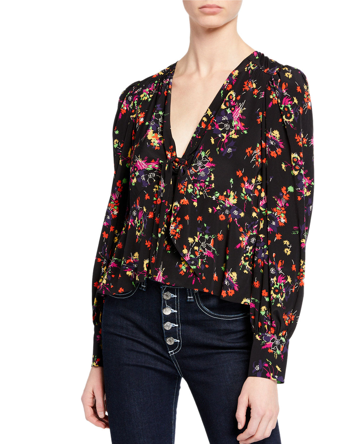 Veronica Beard Payton Blouse