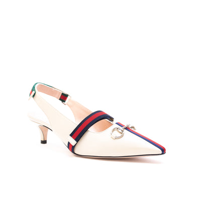 Gucci Emma Kitten-Heel Pump