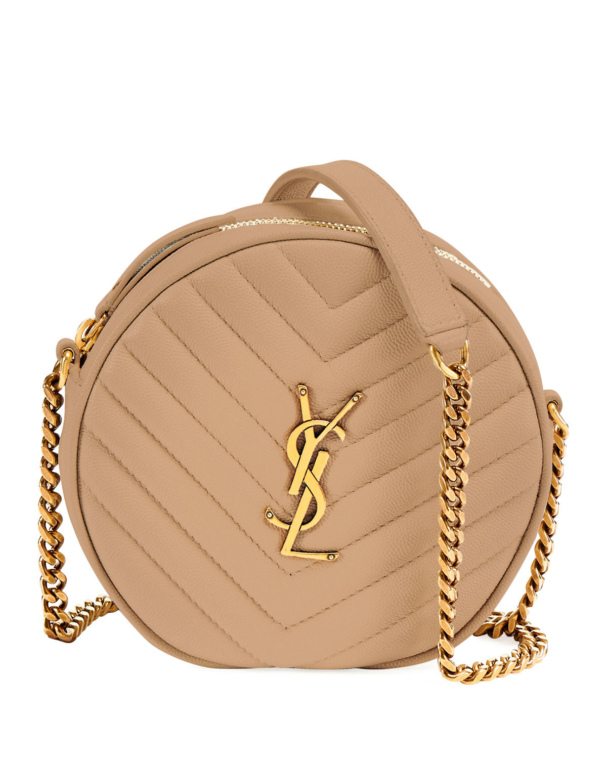Saint Laurent Round Crossbody Bag